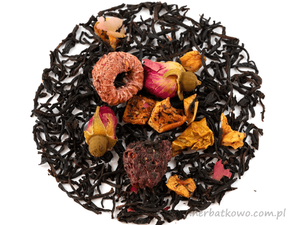 Herbata czarna Królewska Malina