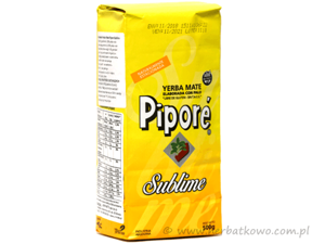 Yerba Mate Pipore Sublime 0,5 kg