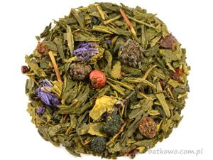 Zielona herbata Sencha Leśny Elf