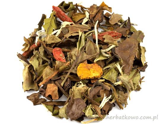 Herbata biała+zielona aromat. Mantra
