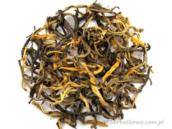 Herbata czarna China Yunnan Dian Hong - Złota Mgła