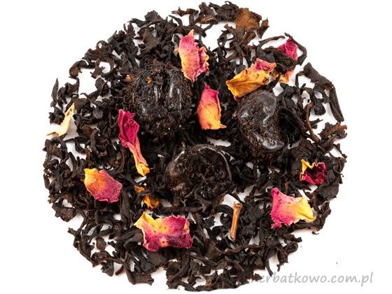 Herbata czarna Wiśnia Maraschino
