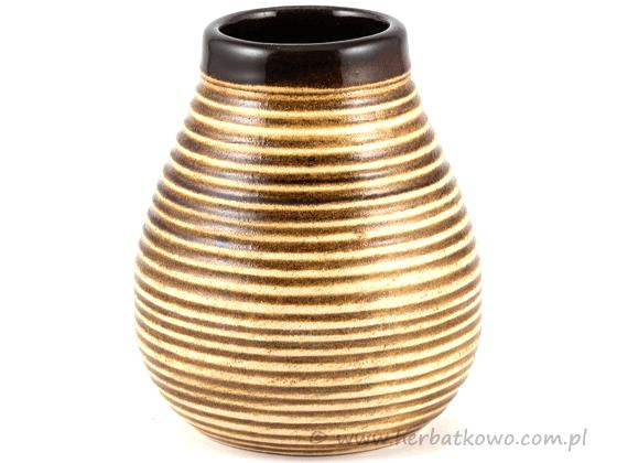 Matero ceramiczne 350 ml do Yerba Mate