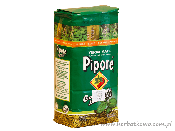 Yerba Mate Pipore ziołowa 0,5 kg