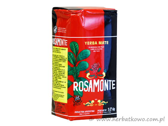 Yerba Mate Rosamonte 0,5 kg naturalna
