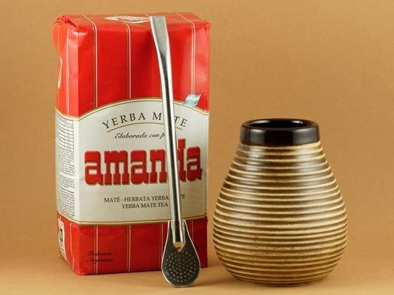 Yerba Mate Starter Ceramiczny Amanda