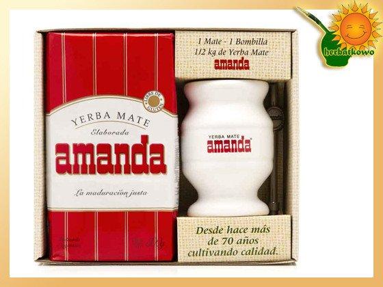 Zestaw Amanda ceramika